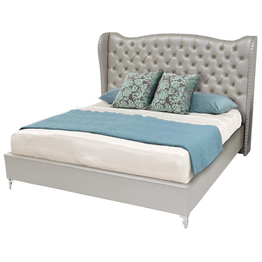 Hollywood Loft Frost King Platform Bed  main image, 1 of 9 images.