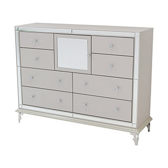 Hollywood Loft Frost Dresser