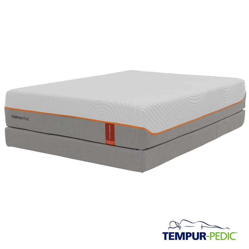 Contour Rhapsody Luxe Memory Foam Queen Mattress Set w/Low Foundation by Tempur-Pedic  main image, 1 of 5 images.