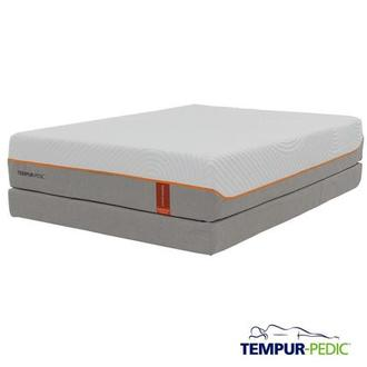 Contour Rhapsody Luxe Memory Foam Queen Mattress Set w/Low Foundation by Tempur-Pedic