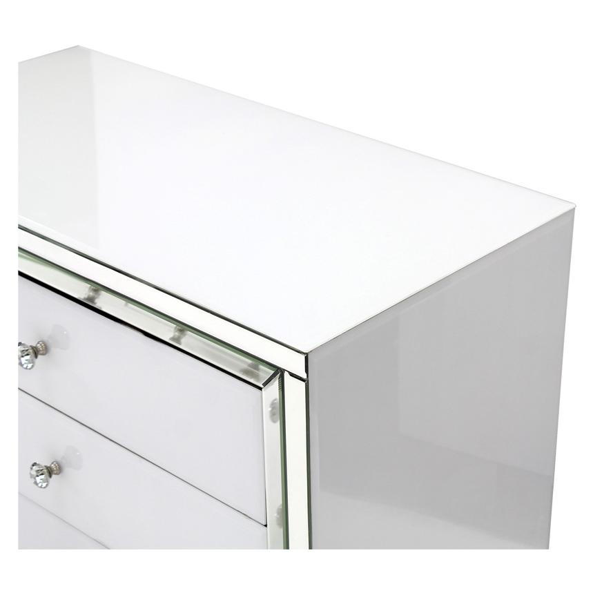 Amia White Mirrored Cabinet  alternate image, 6 of 8 images.