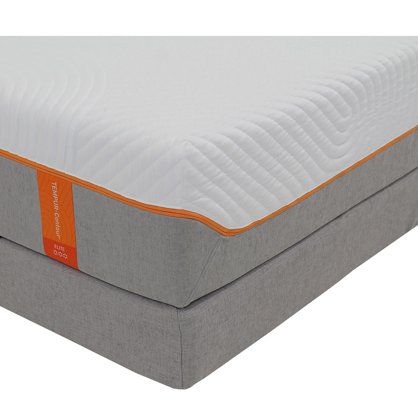 Contour Supreme Memory Foam Full Mattress Set w/Regular Foundation by Tempur-Pedic  alternate image, 2 of 5 images.