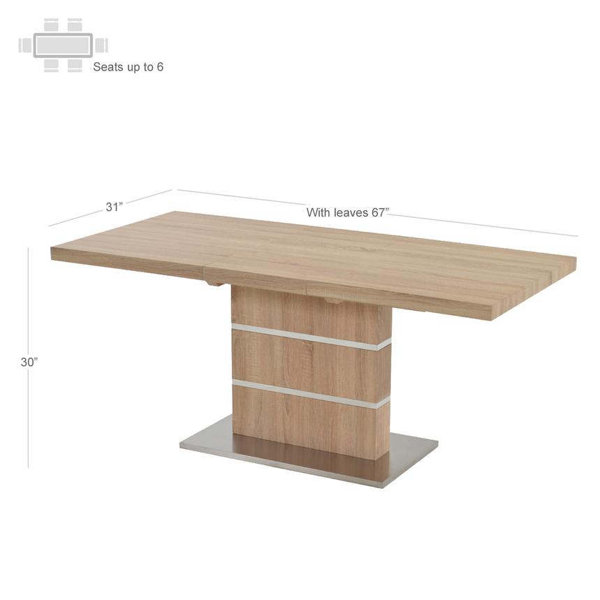 Lorange Extendable Dining Table  alternate image, 2 of 4 images.