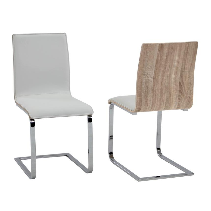Solimar White Side Chair  main image, 1 of 7 images.