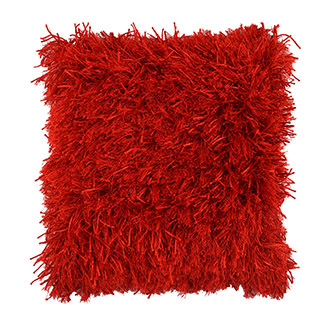 Vivanta Red Accent Pillow