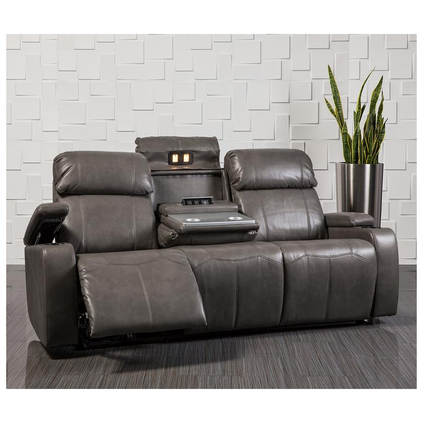 Magnetron Gray Power Motion Sofa  alternate image, 2 of 10 images.