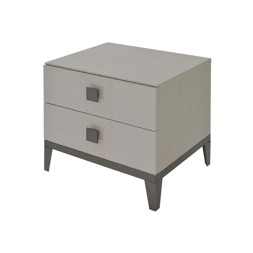 Mont Blanc Gray Nightstand Made in Italy  main image, 1 of 9 images.