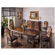 Opulent 5-Piece Formal Dining Set  alternate image, 2 of 15 images.