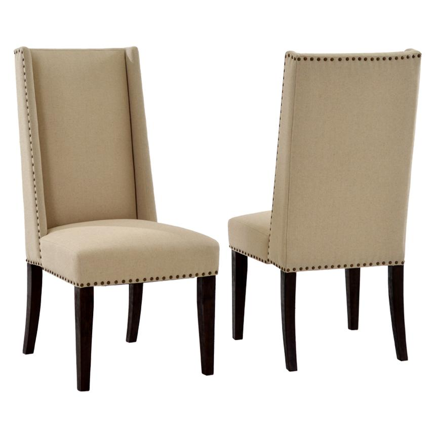 Hudson Rustic Java Side Chair  main image, 1 of 6 images.