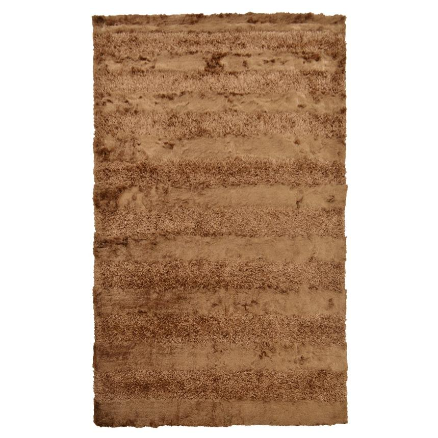 Fusion Brown 5' x 8' Area Rug  main image, 1 of 2 images.