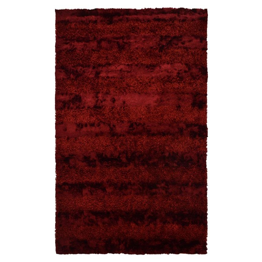 Fusion Red 5' x 8' Area Rug  main image, 1 of 5 images.