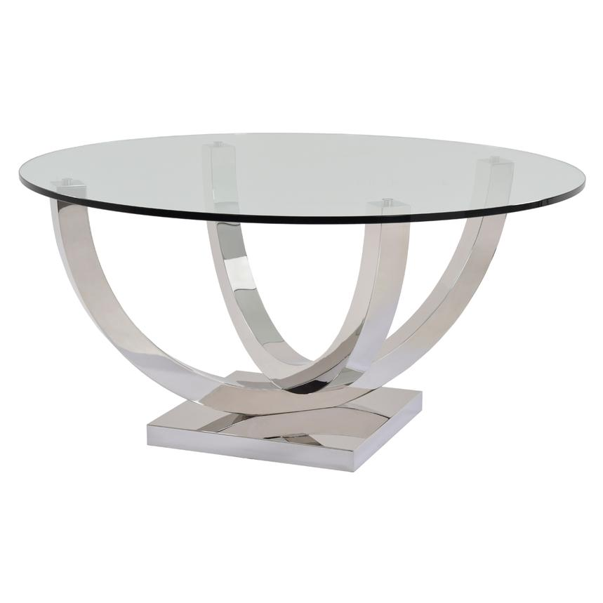Onyx Round Dining Table  main image, 1 of 3 images.