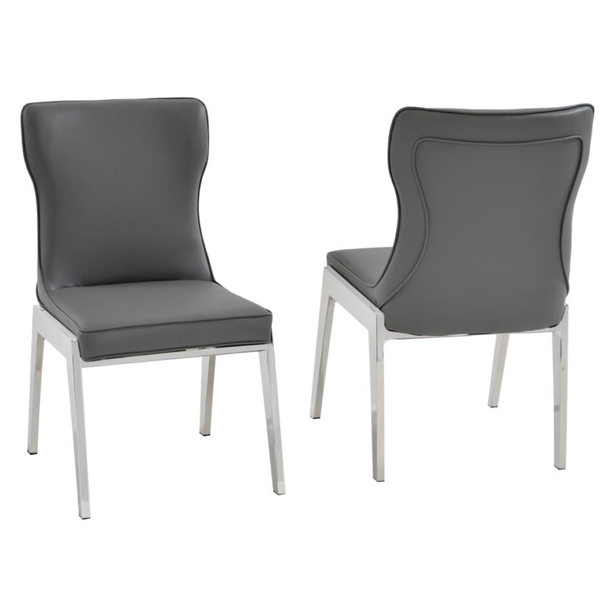 Onyx Gray Side Chair  main image, 1 of 5 images.
