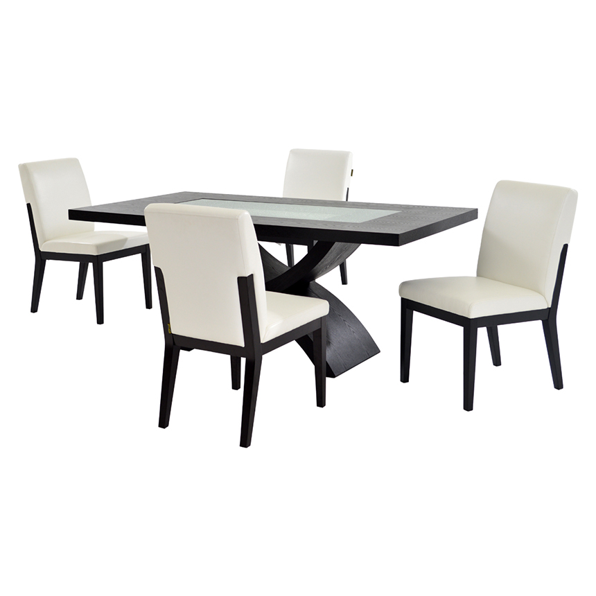 Zephyranth/Suria 5-Piece Formal Dining Set  main image, 1 of 10 images.