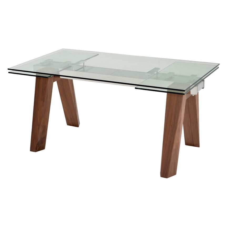 Delightful Valencia Brown Extendable Dining Table Main Image, 1 Of 9 Images.