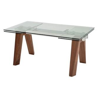 Valencia Brown Extendable Dining Table