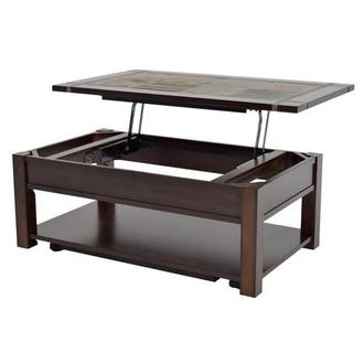 Roanoke Lift Top Coffee Table w/Casters