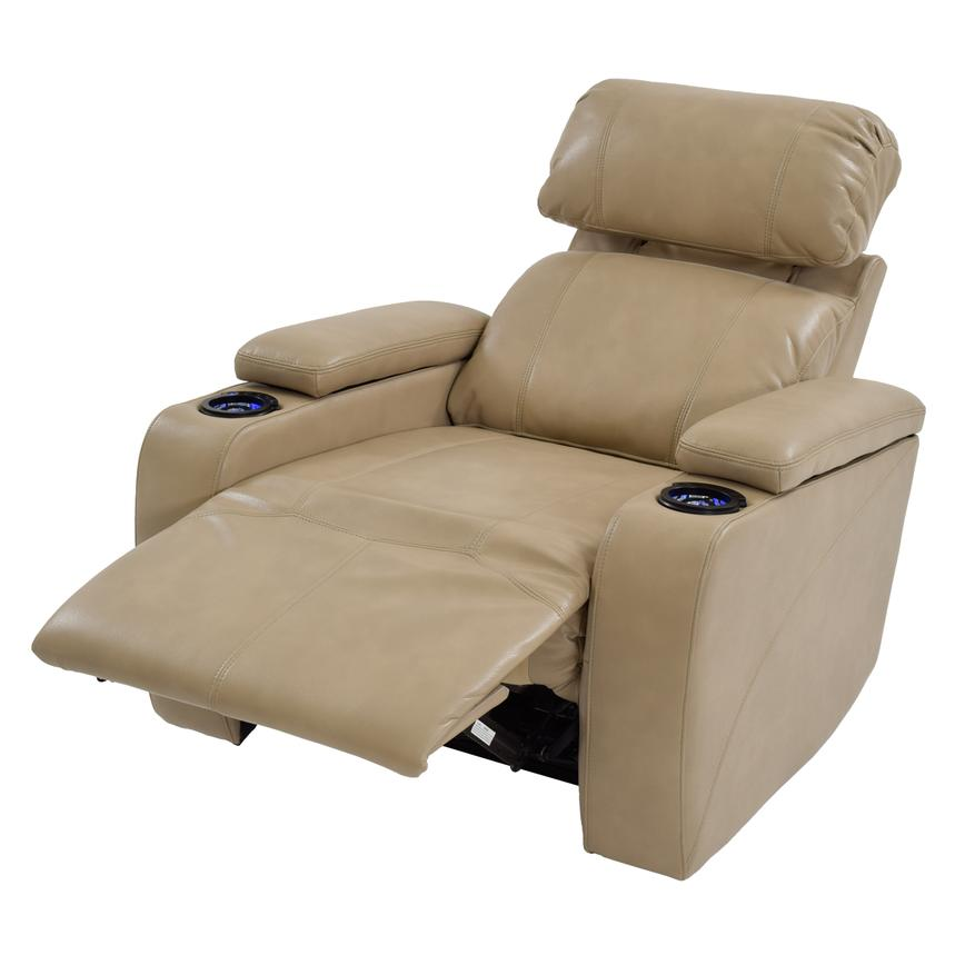 Magnetron Cream Power Motion Recliner  alternate image, 2 of 7 images.