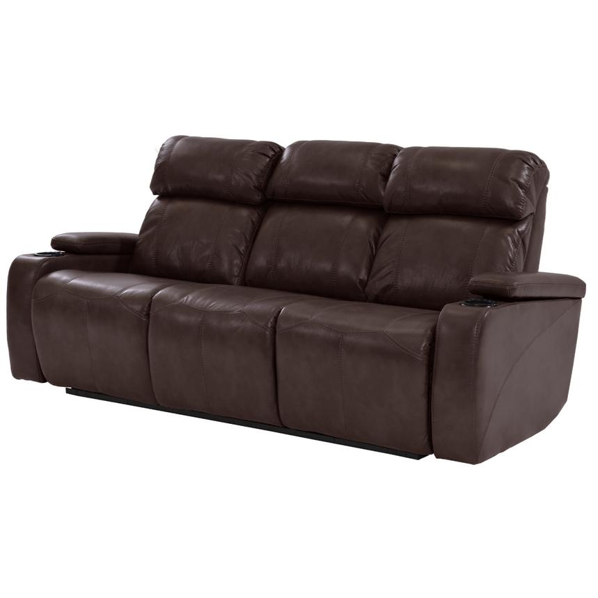Magnetron Brown Power Motion Sofa  main image, 1 of 9 images.