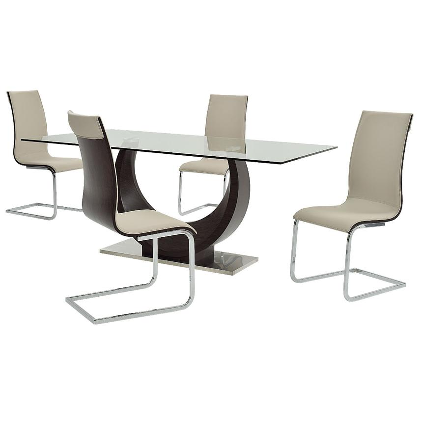 Lunar 5-Piece Casual Dining Set  main image, 1 of 14 images.