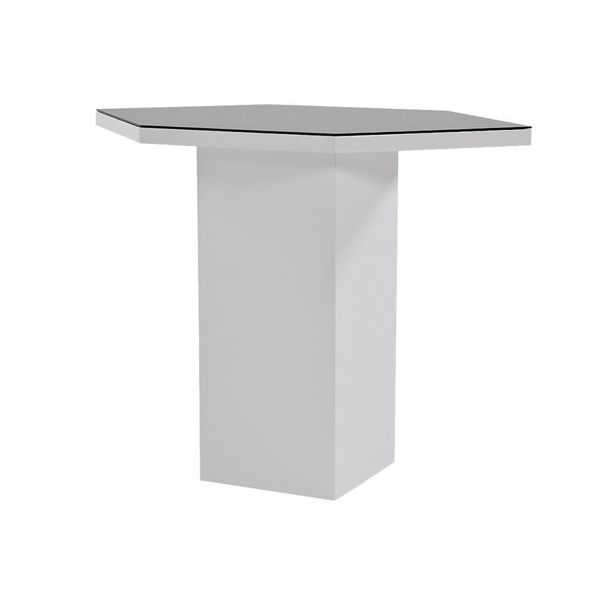 Nostran Square Counter Table w/Casters  main image, 1 of 5 images.
