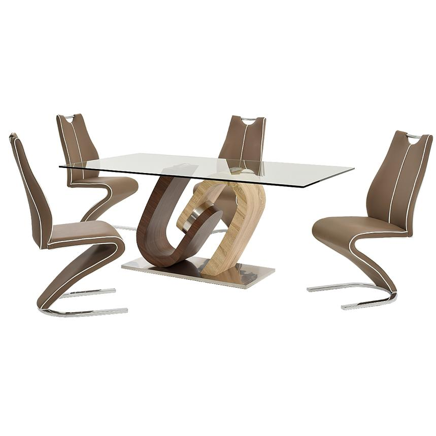 Serpentine 5-Piece Casual Dining Set  main image, 1 of 12 images.