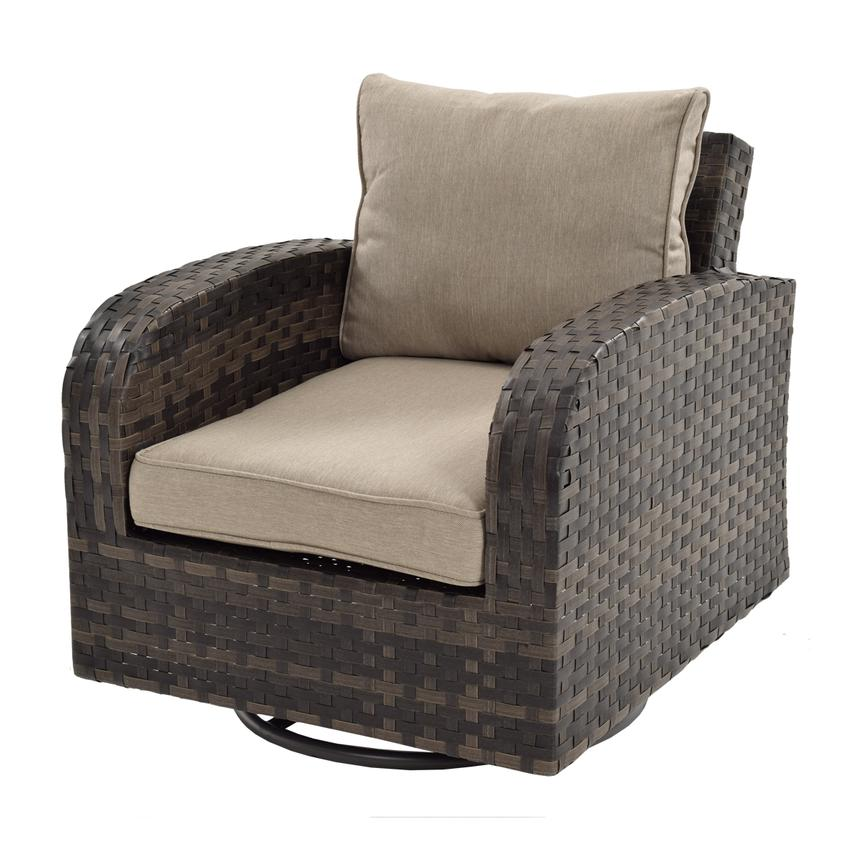 Marco Polo Swivel Accent Chair El Dorado Furniture