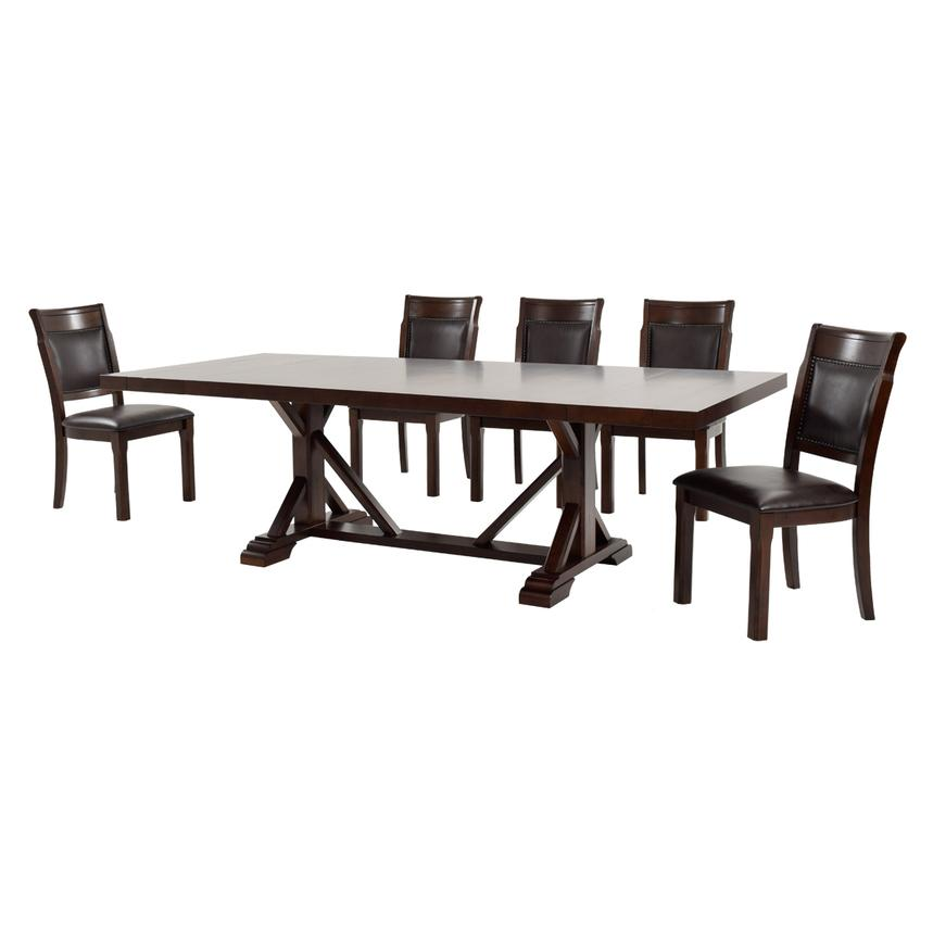 Rutsie 5-Piece Casual Dining Set  alternate image, 2 of 14 images.