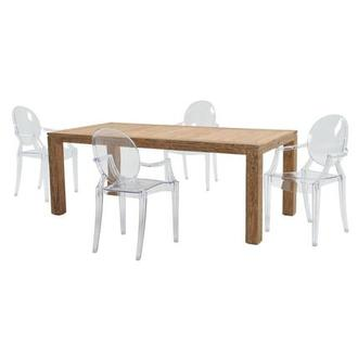 Ares/Isabella 5-Piece Patio Set