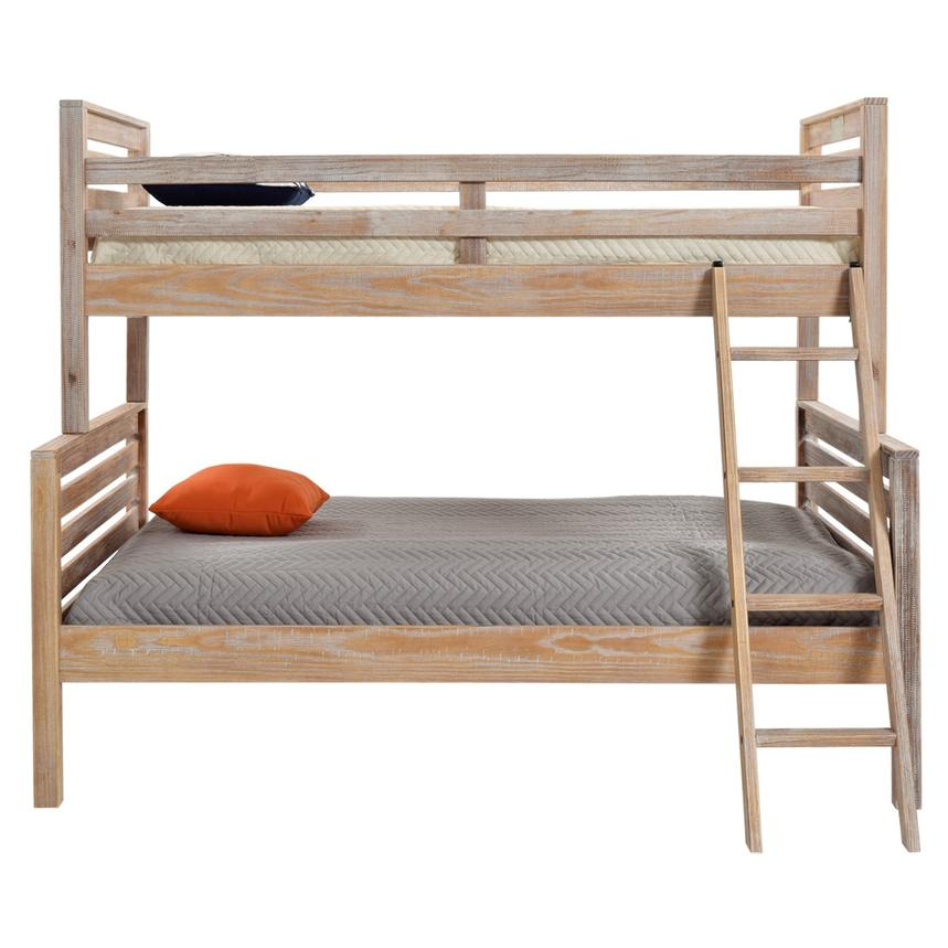 Montauk Natural Twin Over Full Bunk Bed Made in Brazil  alternate image, 2 of 7 images.