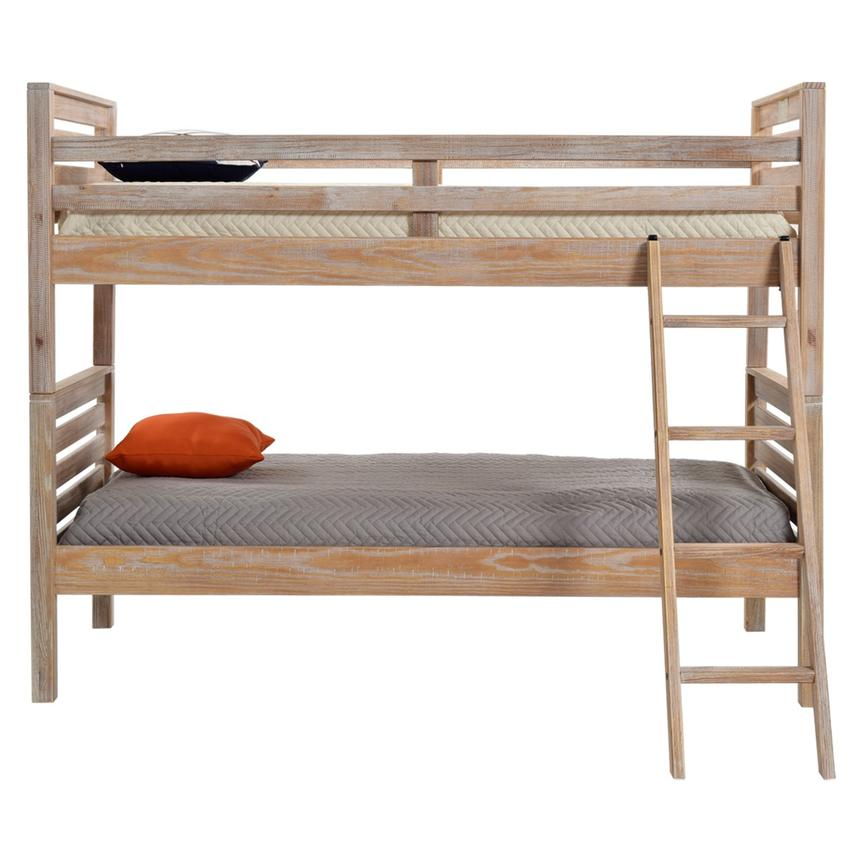 Montauk Natural Twin Over Twin Bunk Bed Made in Brazil  alternate image, 2 of 7 images.