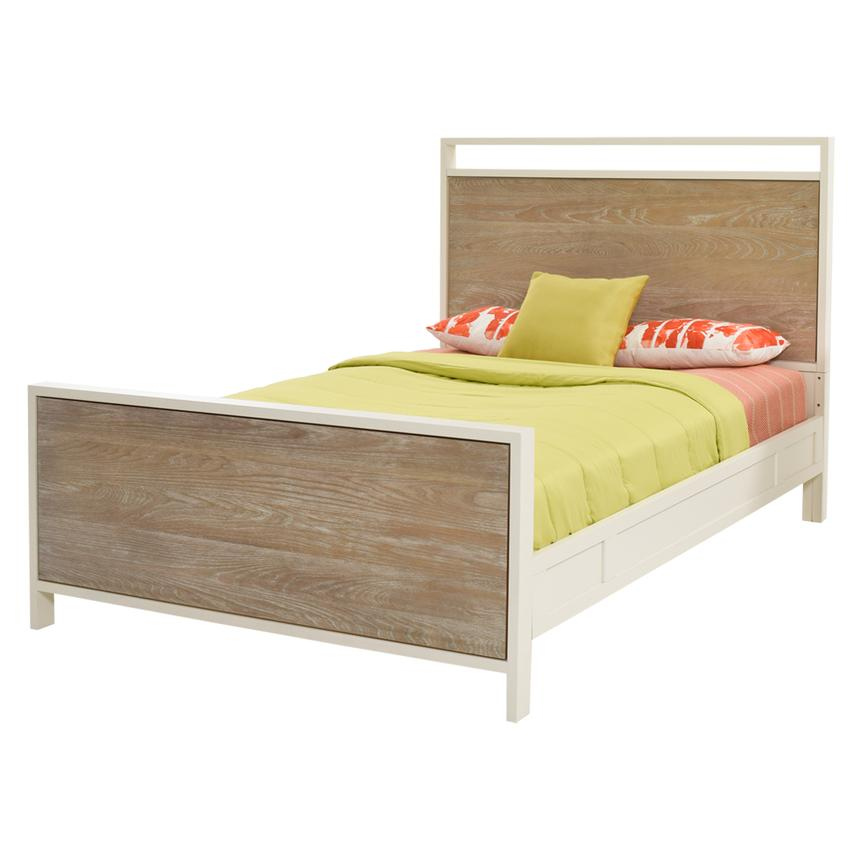 Discover Twin Panel Bed  main image, 1 of 6 images.