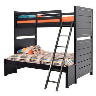 Graphite Twin Over Full Bunk Bed