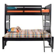 Graphite Twin Over Full Bunk Bed  alternate image, 4 of 8 images.