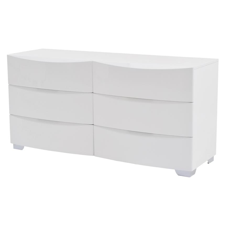 Jolie White Dresser  main image, 1 of 7 images.