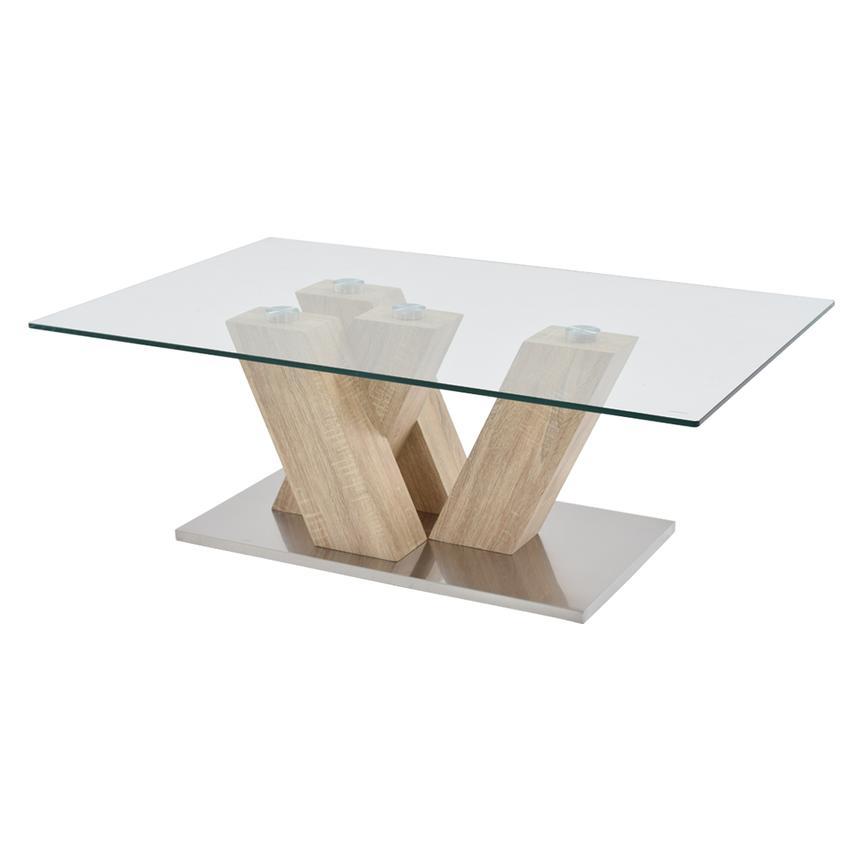 Solimar Natural Coffee Table  main image, 1 of 3 images.