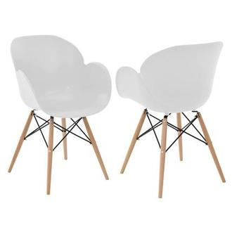 Salerno White Chair