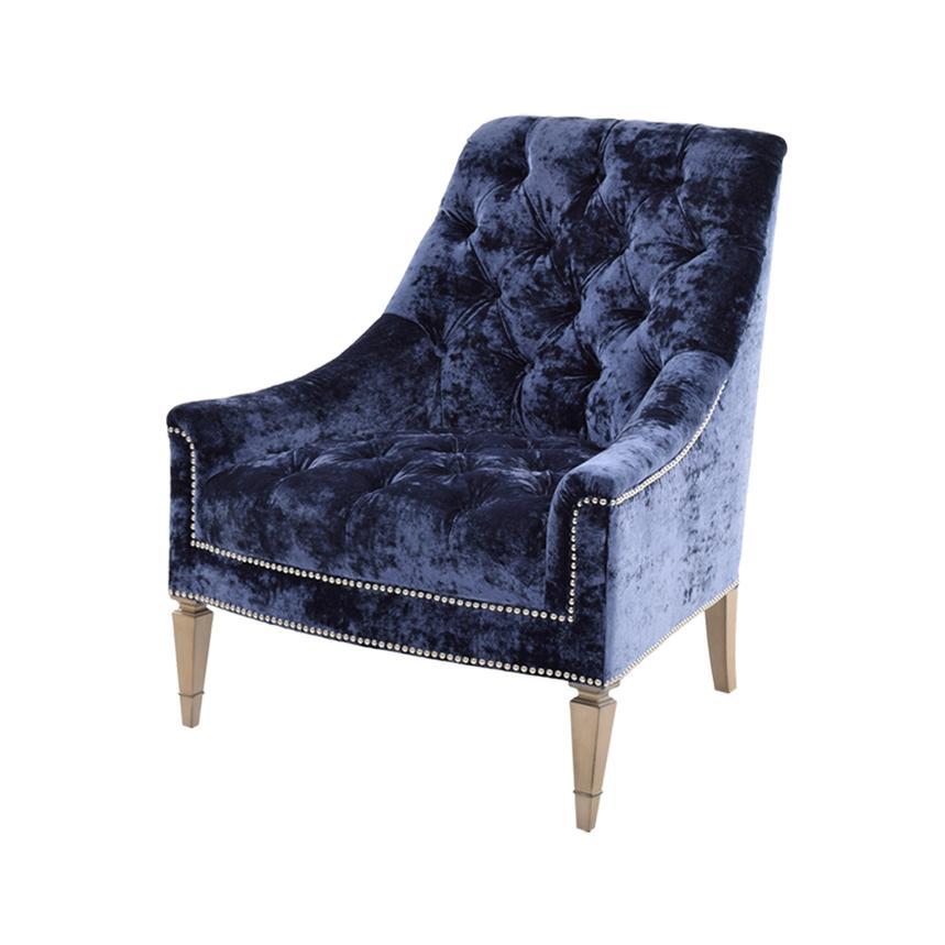 Kimberly Blue Accent Chair El Dorado Furniture
