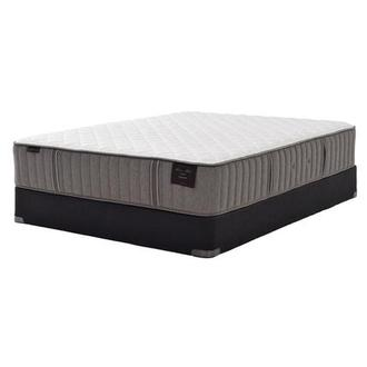 Scarborough III Queen Mattress Set w/Low Foundation by Stearns & Foster