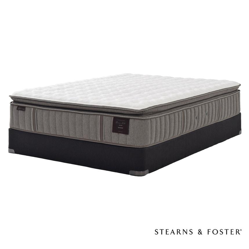 Oak Terrace IV Queen Mattress Set w/Regular Foundation by Stearns & Foster  main image, 1 of 5 images.