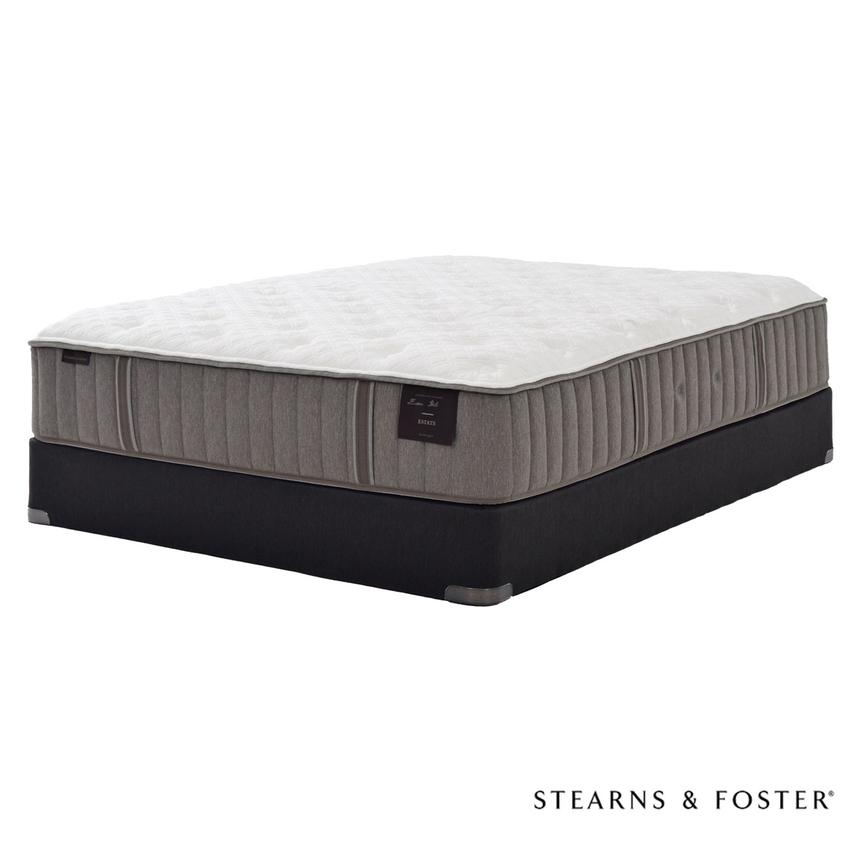Scarborough II Full Mattress Set w/Low Foundation by Stearns & Foster  main image, 1 of 5 images.