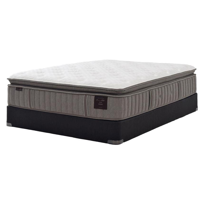 Scarborough V Twin XL Mattress Set w/Low Foundation by Stearns & Foster  main image, 1 of 5 images.