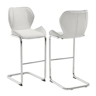 Latika White Bar Stool