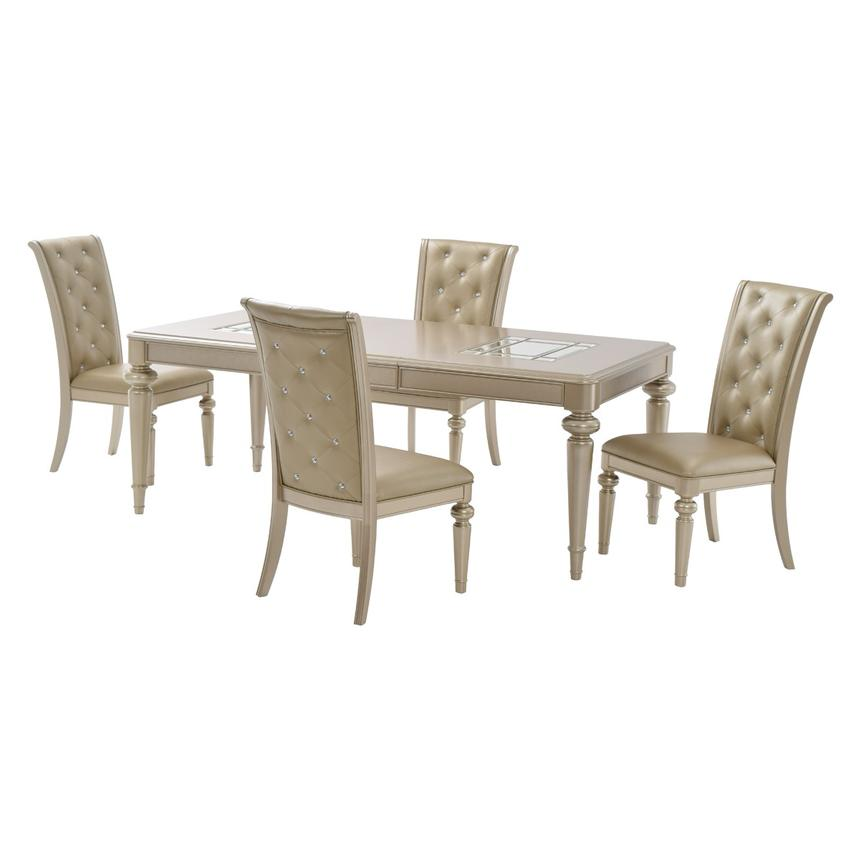 Dynasty 5-Piece Formal Dining Set  main image, 1 of 14 images.