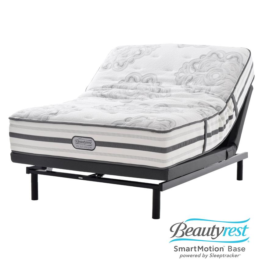 Sandy Spring Twin XL Mattress Set w/SmartMotion™ 1.0 Powered Base  main image, 1 of 8 images.