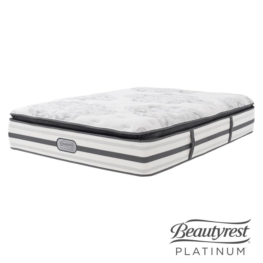 Stone Mountain Queen Mattress by Simmons Beautyrest Platinum  main image, 1 of 5 images.