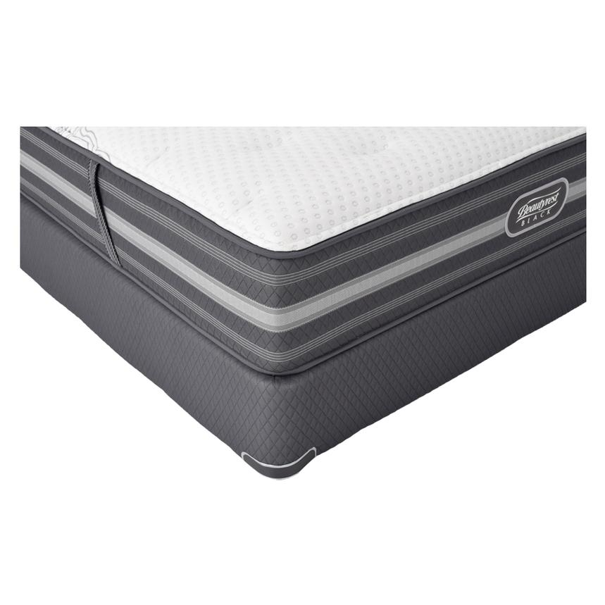 Calista Full Mattress Set w/Low Foundation by Simmons Beautyrest Black  alternate image, 2 of 5 images.