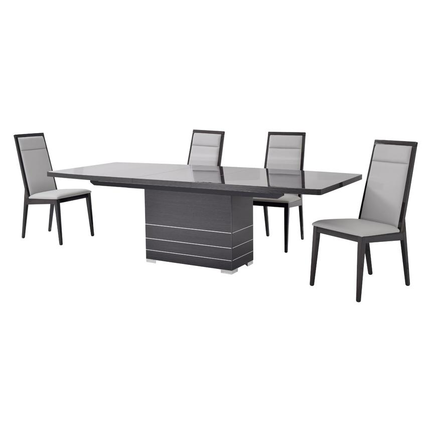 Valery 5-Piece Formal Dining Set Made in Italy  alternate image, 2 of 12 images.
