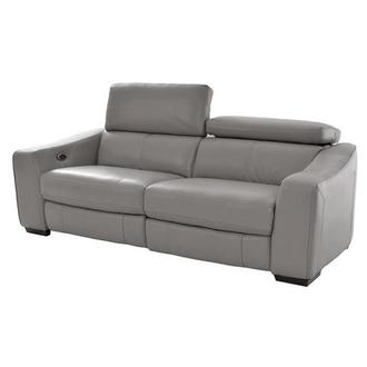 James Gray Power Motion Leather Sofa