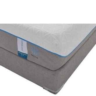 Cloud Supreme Breeze Memory Foam Twin XL Mattress Set w/Regular Foundation by Tempur-Pedic